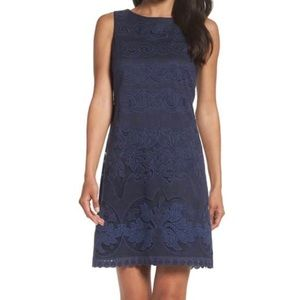 Eliza J Lace a line dress